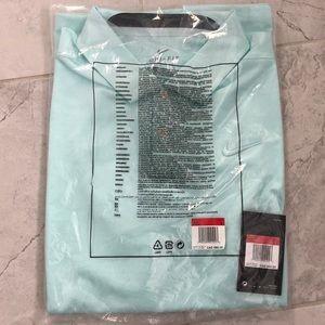 Nike Dri-Fit golf shirt in Teal